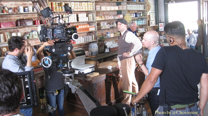 """On Location at """"Pepper's General Store"""" with Tony Hale (Clark)"""