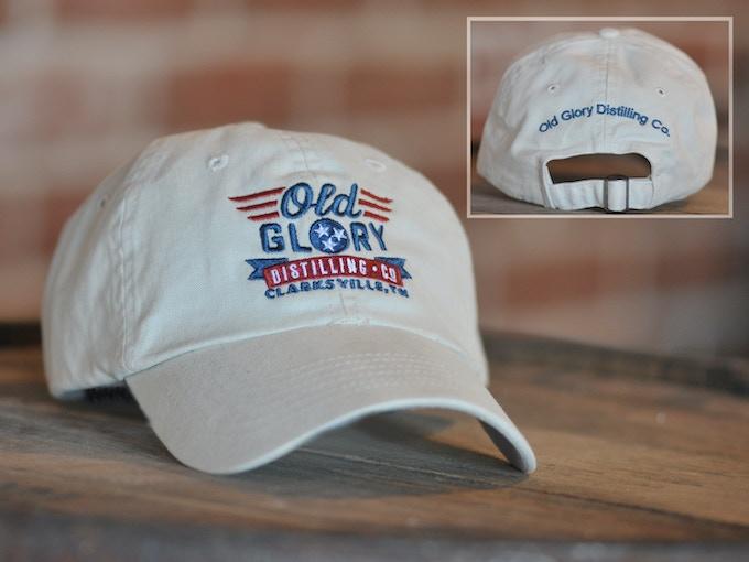 Embroidered Khaki Hat