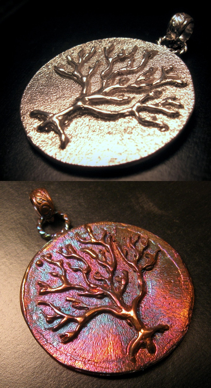 Tree of Life Pendant - Sterling Silver (With or Without Patina) - Reward #29