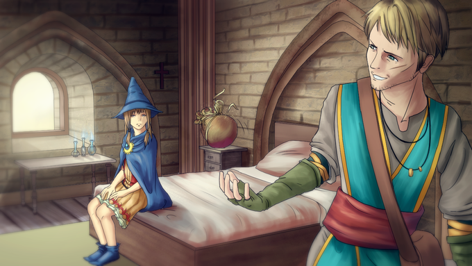 Violetta and the Merchant