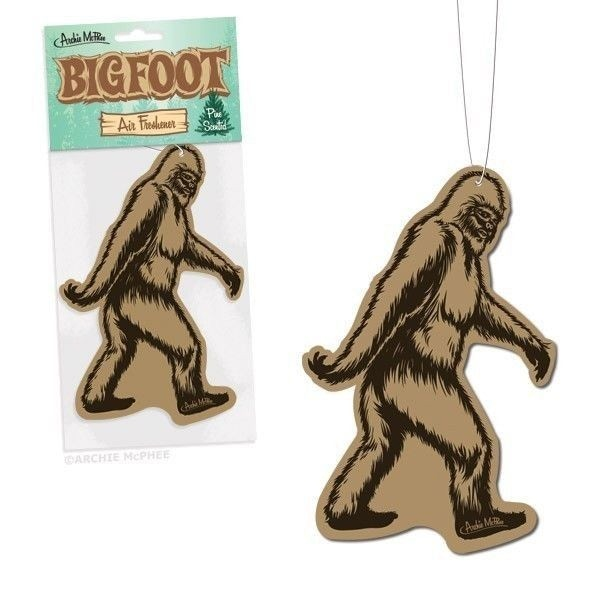 Bigfoot air freshener added to all rewards at $50 and over!