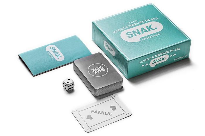 Højmoderne SNAK 2.0 - Et Kortspil der sætter hygge og nærvær på spil. by RZ-31