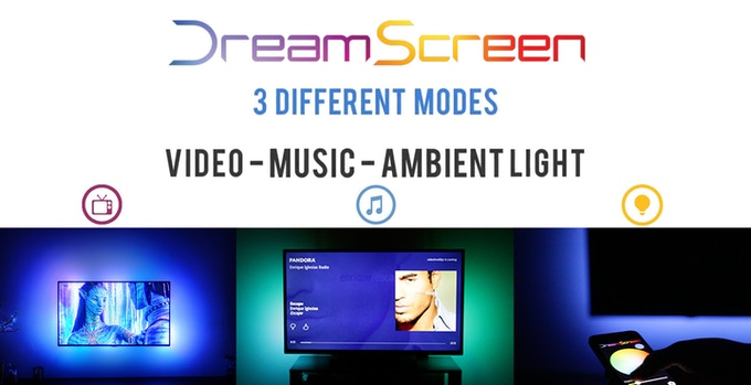 Video. Music. Ambient Lighting