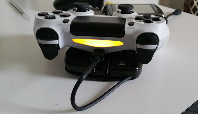 Even charges your gaming controllers