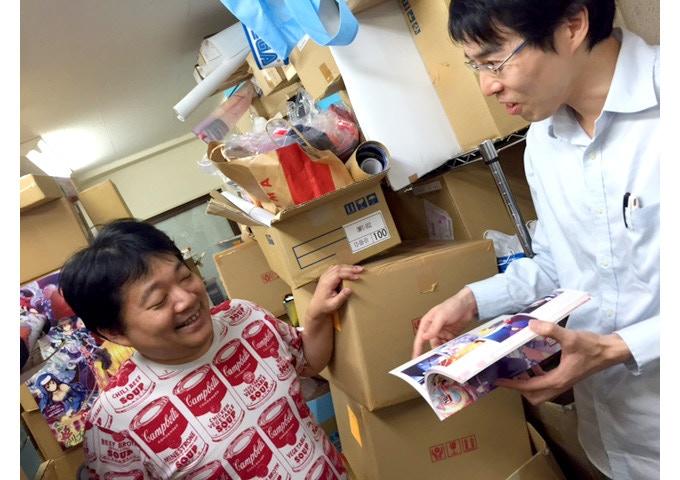 In the studio - Producer MOKA & Sugawara San discuss a Kickstarter artbook reward