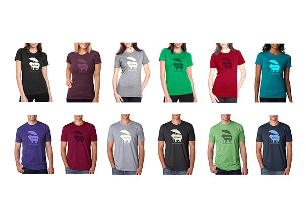 GoSnug T-Shirt Colors