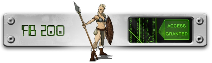 200 Likes on Facebook unlocked Female Spear Warrior!