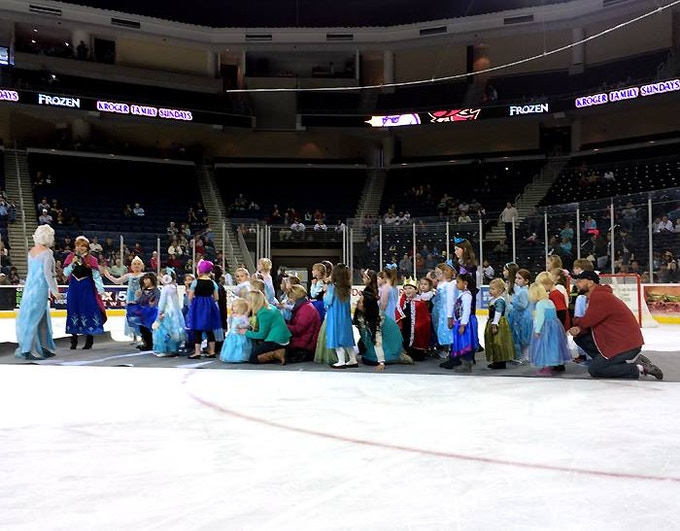 Gwinnett Gladiators Frozen Night