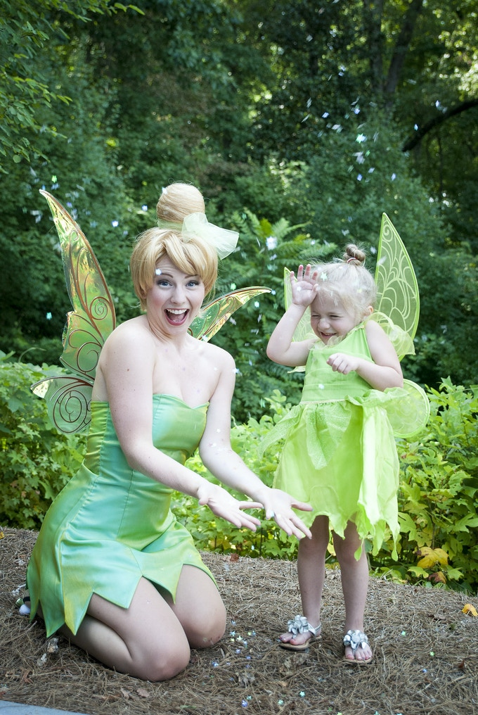 Faith and trust and pixie dust!