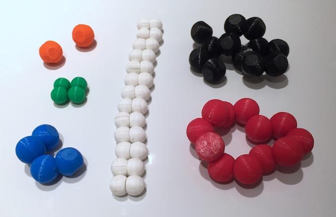 3D Printed Prototype (Phosphorus Not Pictured)