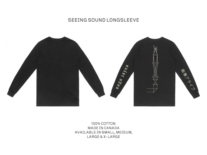 Images Alive : Seeing Sound Long-Sleeve