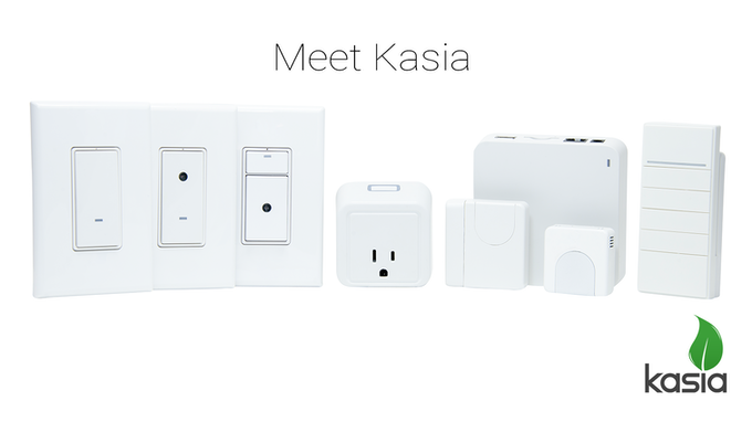 Kasia Switch, 3-Way Switch, Dimmer, Plug, Open, Hub, Presence, and Remote.