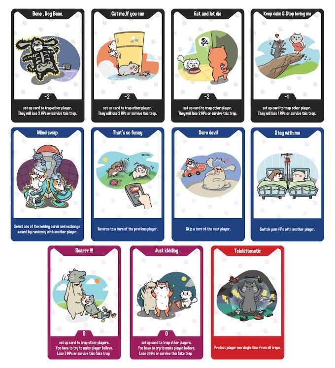 Sample cards