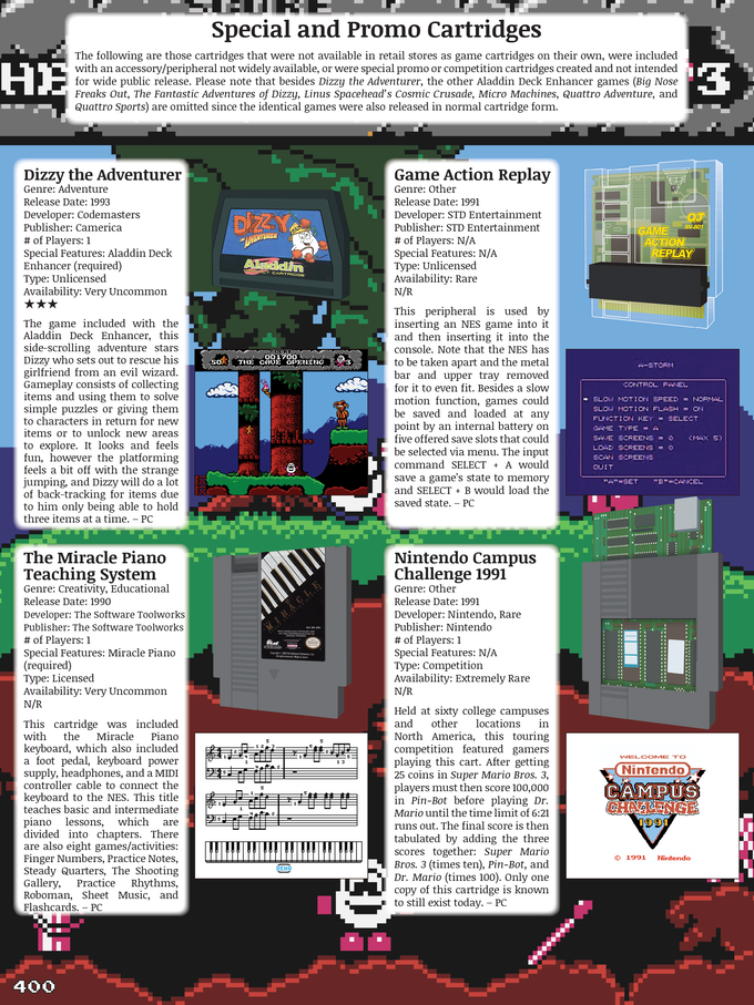 Nintendo NES Library Guide & Review Book of 750+ Games! by Pat