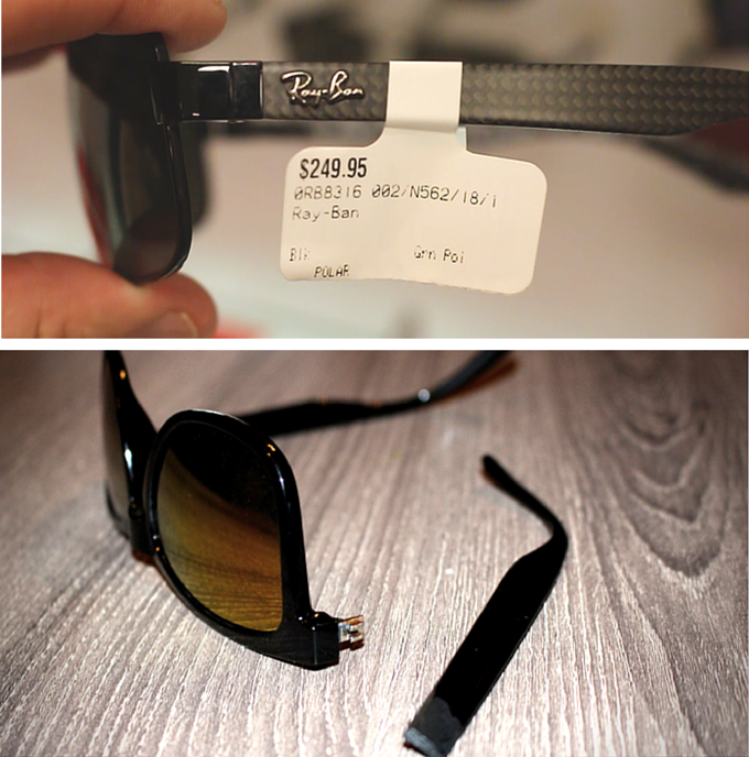 0f4d9ae69e Sunglasses are expensive! Marked up to over 20 times what they actually  cost to make. With the huge price tags