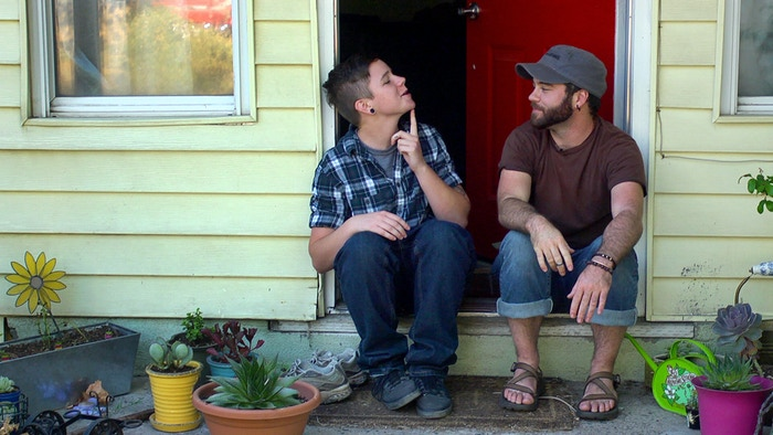 REAL BOY is a coming-of-age story about a transgender musician and his search for the meaning of family, given and chosen.
