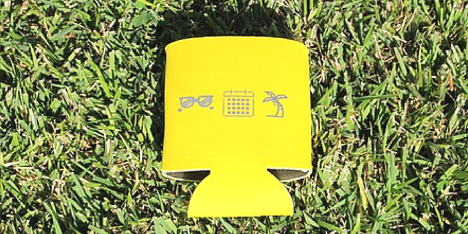 Bring your koozie to your BBQ, a concert and your ultimate tailgate!