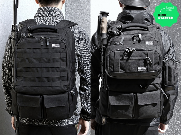 We are inspired by military gear and make Modern Functional Bag that's suitable for travel, outdoor, and city lifestyle.