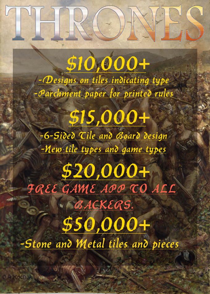 If there's any stretch goals you'd like to see, send me a message!
