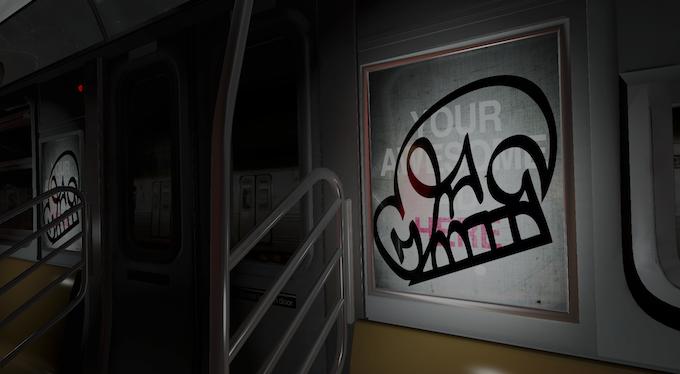 Make like KATSU and tag the train!