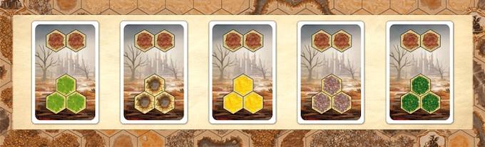Marsh terrain cards