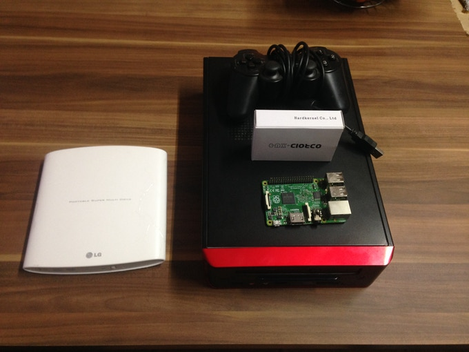 indieGO! All-in-One Retro Game Console (Raspberry Pi 2) by