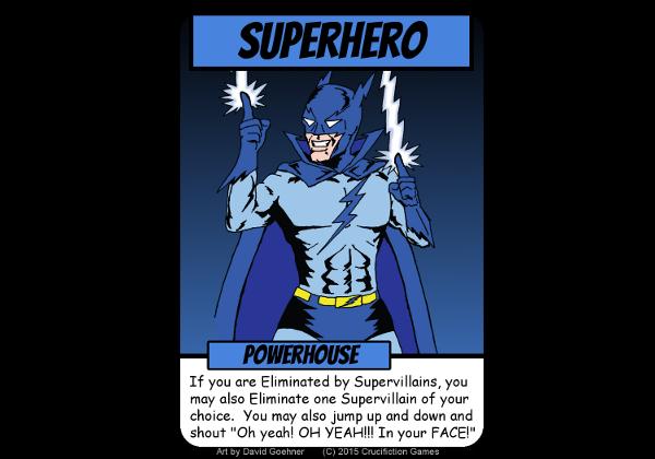 Meet the Powerhouse - villains beware!