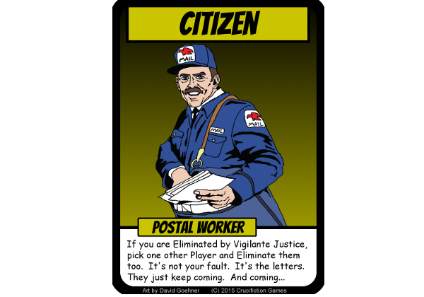 Some go postal, some spy, some even help the Villains - but Advanced Citizens are never boring.