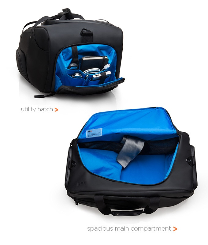 fb6da0478610 Most duffle bags on the market either have a square or cylinder shape but  for the KP Duffle we wanted to create something that has never been seen  before in ...