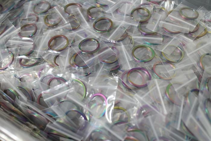Split Rings All Bagged Up!