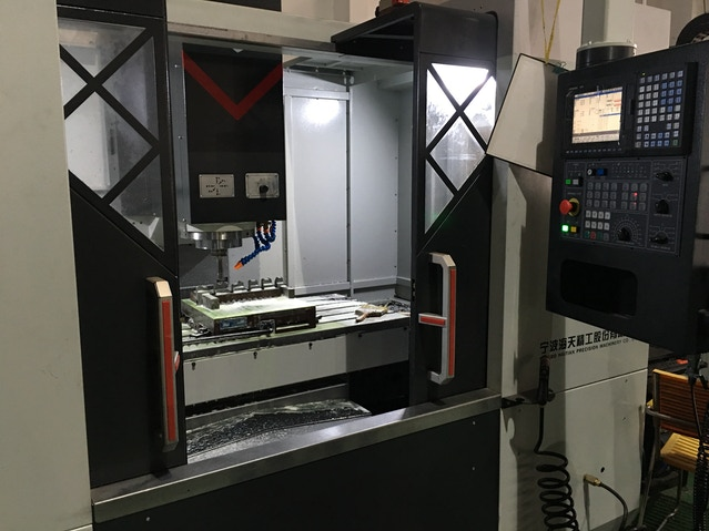 CNC machine that is used to create the molds for each component