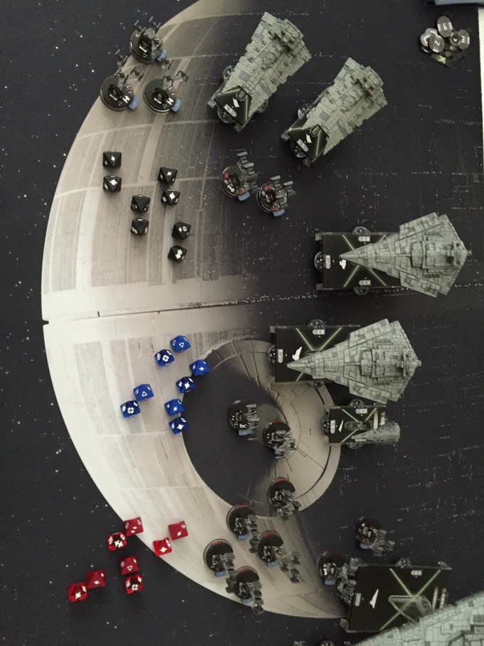 All Dice with some Imp Ships