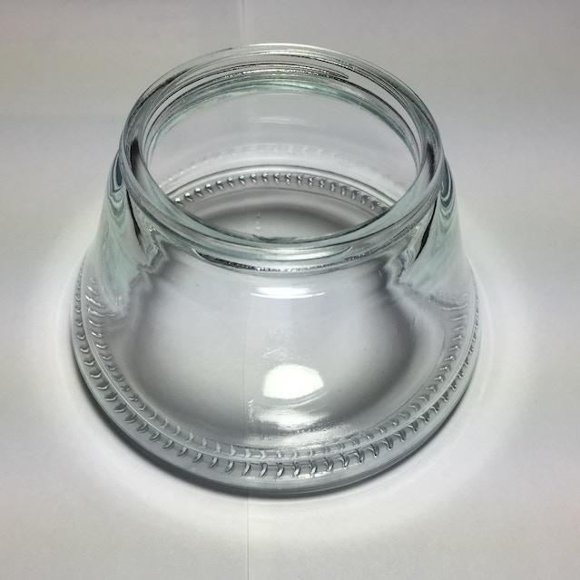Glass catcher sample from first run