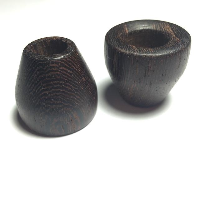 Handground wood knobs