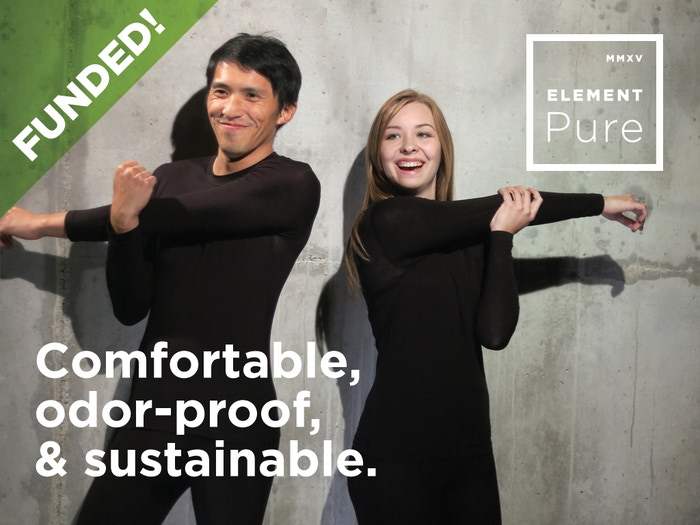 The most comfortable baselayer ever. High performance thermal underwear that auto-regulates your temperature & moisture.