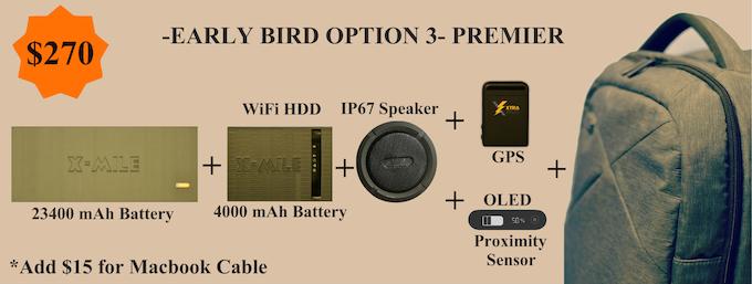 EARLY BIRD - PREMIER PACKAGE