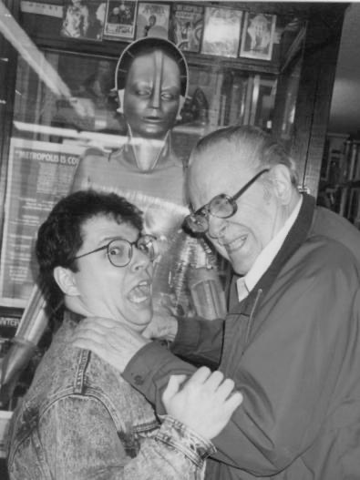Editor Dennis Daniel battles Forry Ackerman over who would edit the original Famous Monsters Chronicles book.