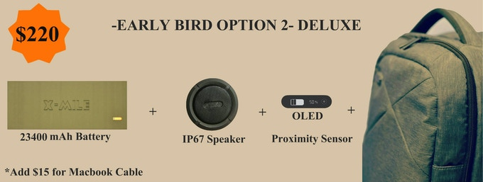 EARLY BIRD - DELUXE PACKAGE