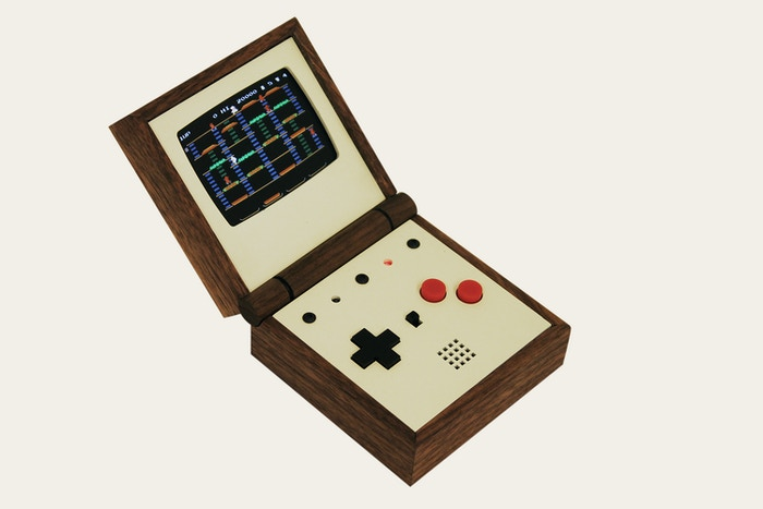 Pixel Vision - The handmade portable game system by Love Hultén