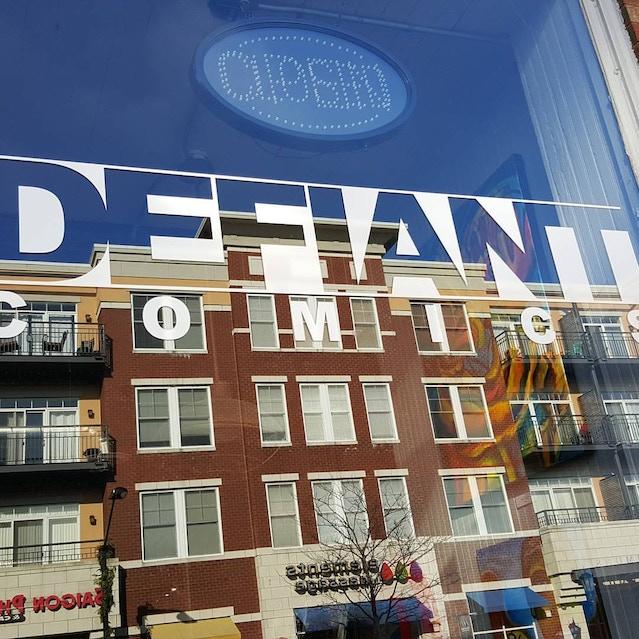 Defiant Comics, Forest Park, Il