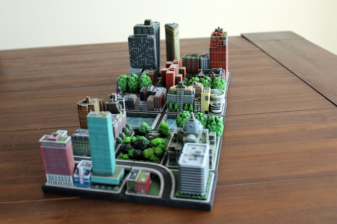 an example of currently available Ittyblox buildings