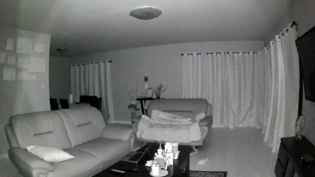 Real night vision image from Spot of Jerry's living room. Who is Jerry? Our Senior Product Manager!