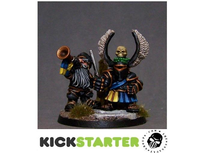 White Knight's Dwarf Foot Knights Kickstarter 40b1a6d8094e53c17b9ea9992d594fbe_original