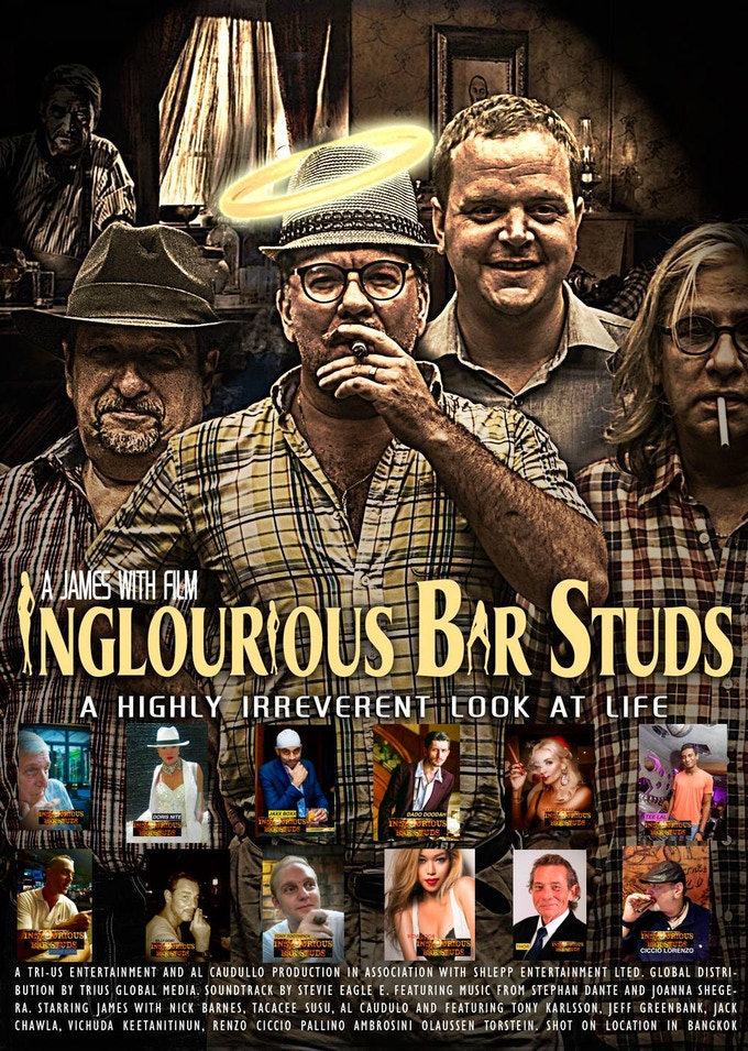 Inglourious Bar Studs Poster With Cast