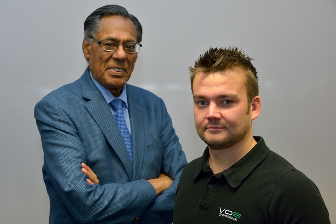 Matt Tomkin and Subhash Anand MBE joining forces to create the Airide