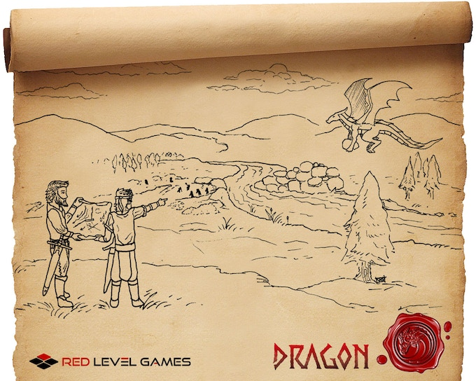 Daming a river for a near-by village.  A day of your dragon's labor is worth months of manpower.  Gold and tribute will surely follow your good deeds.