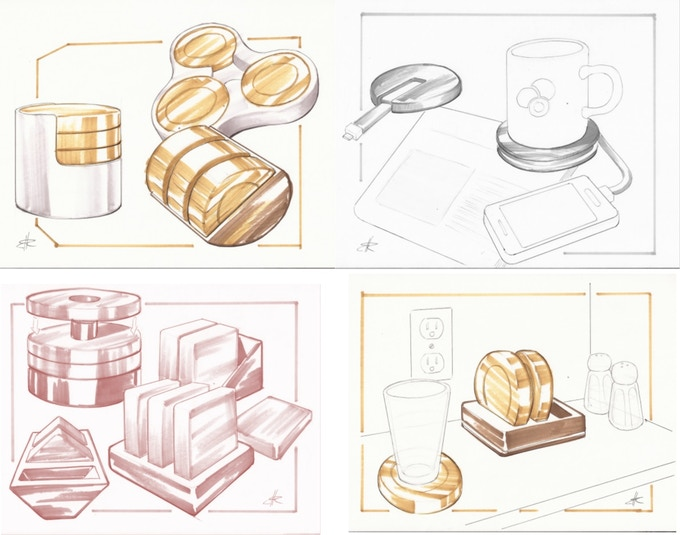 Design sketches for Circle