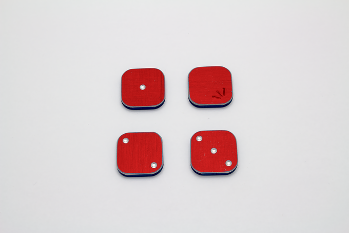 Red Dice Render *colors may vary slightly
