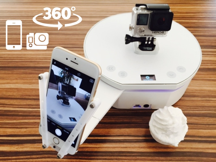 With Pixelio and your smartphone or GoPro creating the 3D scans or 360 photos & movies is a piece of cake!