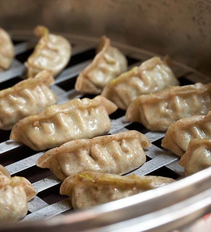 Chinese Potstickers. Photo by Lucy Schaeffer